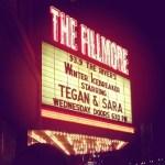 LIVE: TEGAN AND SARA – December 11, 2013, Detroit, MI @ The Fillmore