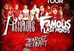 LIVE : TEAR OUT THE HEART – January 28, 2014, Pontiac, MI @ The Crofoot