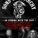 SONS OF ANARCHY cast members to tour Australia