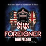 NEWS: STYX AND FOREIGNER SET TO RELEASE 'THE SOUNDTRACK OF SUMMER' TOUR COMPANION ALBUM MAY 6 EXCLUSIVELY AT WALMART