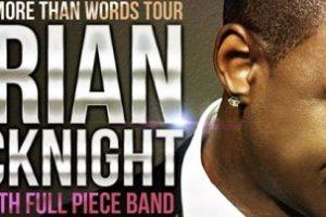 LIVE: BRIAN McKNIGHT – May 22, 2014, Detroit, MI @ Sound Board in Motor City Casino