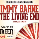 JIMMY BARNES & THE LIVING END TO PLAY AN EVENING ON THE GREEN IN KINGS PARK, November 22
