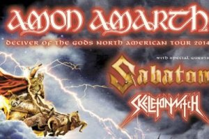 LIVE REVIEW: AMON AMARTH/SABATON, Sacramento, CA, USA – September 27 2014