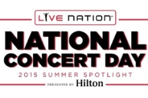 NEWS: Live Nation Announces May 5, 2015 As First-Ever National Concert Day