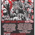 "Chainsaw Hookers ""We Want Your Blood"" album tour"