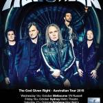 HELLOWEEN ANNOUNCE AUSTRALIAN TOUR FOR NEW ALBUM, THE GOD GIVEN RIGHT