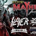 LIVE: ROCKSTAR ENERGY DRINK MAYHEM FESTIVAL – JULY 11, 2015 (Clarkston, MI)