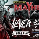 LIVE: ROCKSTAR ENERGY DRINK MAYHEM FESTIVAL – JULY 11, 2015 (Clarkston, MI)