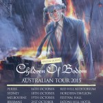 MEGADETH TOURING AUSTRALIA WITH CHILDREN OF BODOM THIS OCTOBER
