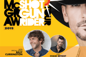 LIVE: TIM MCGRAW wsgs Billy Currington and Chase Bryant – AUGUST 2, 2015 (Clarkston, MI)