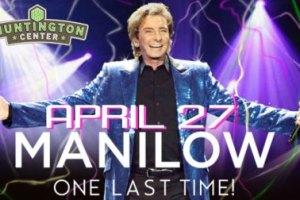 LIVE: BARRY MANILOW wsg Dave Koz – April 27, 2016 (Toledo, OH)