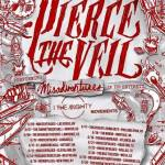 LIVE: PIERCE THE VEIL wsgs I The Mighty & Movements – June 11, 2016 (Detroit, MI)