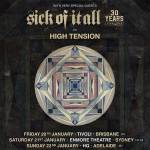 REFUSED with Sick Of It All & High Tension – Australian Tour, January 2017