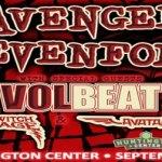 LIVE: AVENGED SEVENFOLD wsg Volbeat – September 15, 2016 (Toledo, OH)