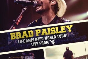CD & DVD REVIEW: BRAD PAISLEY – Live Amplified World Tour