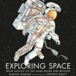 BOOK REVIEW: Exploring Space – From Galileo to the Mars Rover and Beyond by Martin Jenkins, illustrated by Stephen Biesty