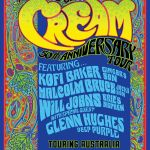 The Music of Cream – 50th Anniversary Tour of Australia May 2017