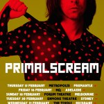PRIMAL SCREAM touring Australia in February 2018