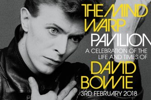 SPECTACULAR DAVID BOWIE COMMEMORATIVE EVENT BACK IN 2018