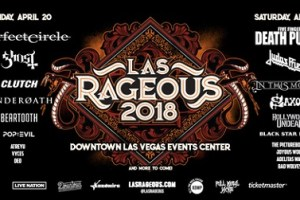 Las Rageous 2018: A Perfect Circle, Five Finger Death Punch, Ghost, Judas Priest & More Announced For 2nd Annual Fest April 20 & 21 In Las Vegas, NV