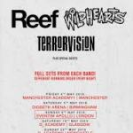 REEF, TERRORVISION, THE WILDHEARTS HEAD DOWNUNDER FOR THE INAUGURAL 'BRITROCK MUST BE DESTROYED' TOUR