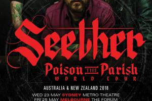 SEETHER Announce 'Poison The Parish' Australian Tour Dates
