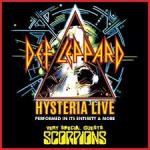 DEF LEPPARD AND SCORPIONS AUSTRALIAN TOUR ANNOUNCED