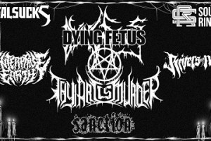 LIVE: DYING FETUS – March 29, 2018