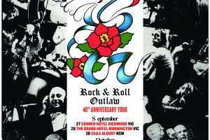 ROSE TATTOO ANNOUNCE 'ROCK N ROLL OUTLAW – 40th ANNIVERSARY TOUR' OF AUSTRALIA