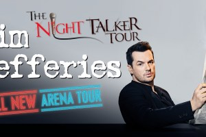 COMEDY MEGASTAR JIM JEFFERIES ANNOUNCES THE NIGHT TALKER AUSTRALIAN ARENA TOUR THIS DECEMBER!