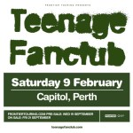 TEENAGE FANCLUB ADD PERTH SHOW TO AUSTRALIAN FEBRUARY 2019 TOUR!