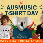 Support Act fundraising campaign for Ausmusic T-Shirt Day