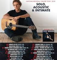 IAN MOSS ANNOUNCES NEW REGIONAL SOLO ACOUSTIC SHOWS!