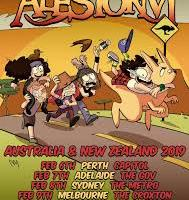 ALESTORM TO RAID AUSTRALIAN & NZ BARS IN FEB 2019!