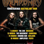 ALIEN WEAPONRY ANNOUNCE 'TŪMATAUENGA' AUSTRALIAN TOUR MARCH 2019