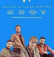 KODALINE Announce 2019 Australian Tour