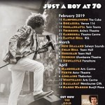 LEO SAYER CELEBRATES HIS 70TH BIRTHDAY YEAR – JUST A BOY AT 70, TOURING AUSTRALIA FEBRUARY-APRIL