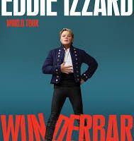 COMEDY LIVE: EDDIE IZZARD – Perth, 5 March, 2019