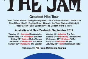 FROM THE JAM Announce Australian And NZ September 2019 Tour