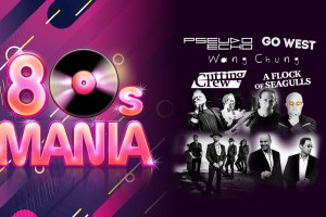 80s Mania returns to Australia in November 2019 with GO WEST * WANG CHUNG * CUTTING CREW * PSEUDO ECHO * A FLOCK OF SEAGULLS