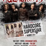 BUCKCHERRY announce Australian tour with Hardcore Superstar AND Bad Moon Born