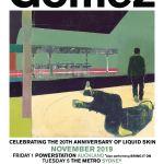 GOMEZ TO PLAY 'LIQUID SKIN' ON ALBUM'S 20TH ANNIVERSARY AUSTRALIAN TOUR