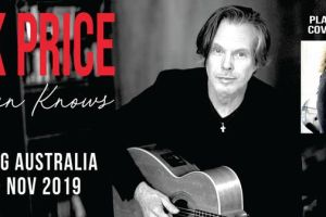 RICK PRICE 'HEAVEN KNOWS' ALBUM AND COVER-TO-COVER TOUR RETURNS