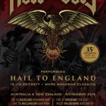 ROSS THE BOSS – 35th anniversary of MANOWAR'S 'HAIL TO ENGLAND' album played around Australia in its entirety