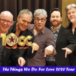 10CC – The Things We Do for Love 2020 Australian tour