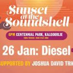 LIVE: DIESEL, Sunset at The Soundshell, Kalgoorlie – 26 Jan, 2020