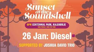LIVE: DIESEL, Sunset at The Soundshell, Kalgoorlie – 26 Jan, 2020