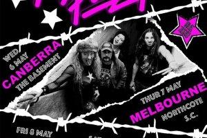 NASHVILLE PUSSY May 2020 Australian Tour