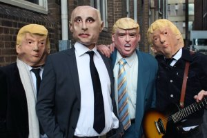 "HOODOO GURUS RELEASE NEW TRUMP-DERIDING VIDEO CLIP FOR ""HUNG OUT TO DRY"""