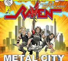 NEW VIDEO FOR TITLE TRACK OF RAVEN'S FORTHCOMING METAL CITY ALBUM
